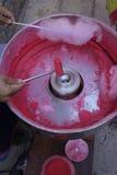 Bawełniany cukierek Fotografia Stock