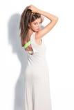 Bawełny suknia Zdjęcie Royalty Free
