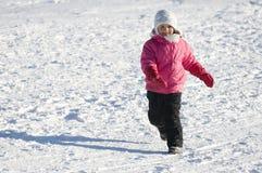 bawić się śnieg zdjęcia royalty free