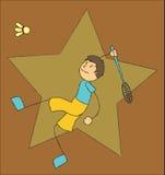 Bawić się Badminton ilustracja wektor