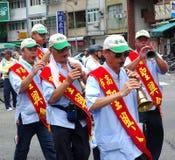 Bawić się Chińskiego Wiatrowego instrument zdjęcie royalty free