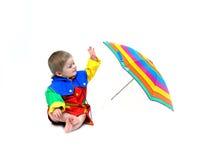 bawić się deszcz Zdjęcia Stock