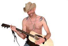 Bawić się gitarę obraz royalty free