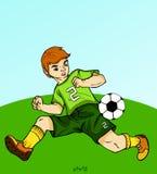 Bawić się piłkę nożną - sprzęt ilustracji
