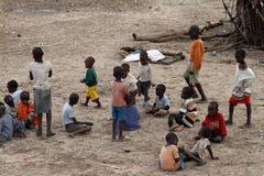 Bawić się Samburu dzieci w Afryka Zdjęcie Royalty Free