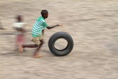 Bawić się Samburu dzieci w Afryka Obraz Stock