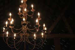 Bawić się z światłem Fotografia Royalty Free