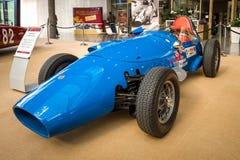 Bawi się bieżnego samochodu Stanguellini formułę Junior, 1958 Zdjęcia Royalty Free