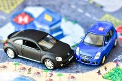 Bawi się samochody zdjęcia royalty free
