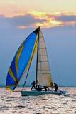 Bawi się jacht Zdjęcie Royalty Free