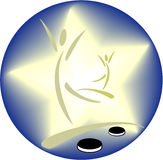 bawi się symbol Zdjęcia Royalty Free