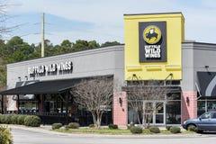 Bawoli Dziki skrzydło restauraci wejście Obraz Stock