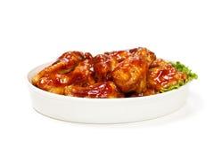 Bawoli kurczaków skrzydła Zdjęcie Stock