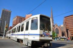 Bawoli metro poręcz, bizon, Nowy Jork zdjęcie stock