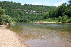 Bawoli punkt na Bawoliej rzece -1 Zdjęcie Stock