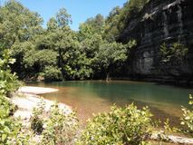 Bawolia rzeka Obraz Stock