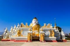 Bawrithat Pagoda ,Nyaung Shwe   in Myanmar (Burmar) Stock Images