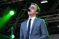Baxter Dury, singer and songwriter, performs at San Miguel Primavera Sound Festival Royalty Free Stock Photography