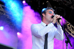 Baxter Dury, singer and songwriter, performs at San Miguel Primavera Sound Festival Stock Photography