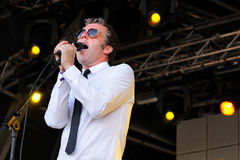 Baxter Dury, singer and songwriter, performs at San Miguel Primavera Sound Festival Royalty Free Stock Photos