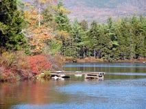 Baxter jesiennej jeziora sp Zdjęcia Royalty Free