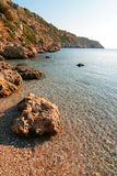 Bay. Anthony Quinn bay in Rhodos island Stock Image