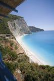 Bay. Beach of Porto Katsiki,Greece stock image