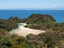 Bay of Abel Tasman National Park Royalty Free Stock Photo