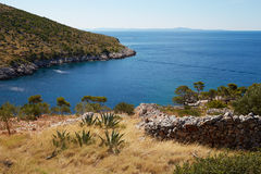 The bay in the Adriatic Sea Stock Images