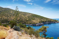 The bay in the Adriatic Sea Royalty Free Stock Image