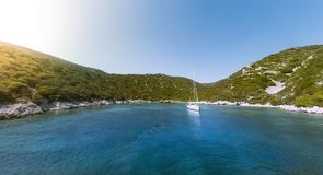 Bay in Aegean sea. Stock Images