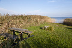 At the bay of Ahrenshoop Stock Photo