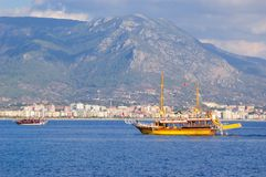 Bay of Alanya. Turkey Royalty Free Stock Photos