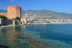 Bay of Alanya. Turkey Royalty Free Stock Photography