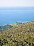 Bay of Alcudia, Majorca, Spain Royalty Free Stock Photography