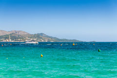 Bay of Alcudia Stock Images