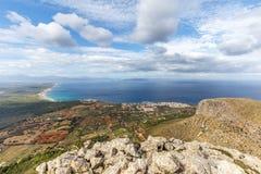 Bay of Alcudia from Puig de Ferrutx