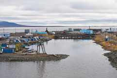 Bay in Anadyr Royalty Free Stock Photo