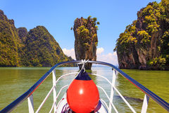 Bay in the Andaman Sea Royalty Free Stock Photography
