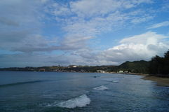 Bay area Aguadilla Puerto Rico Royalty Free Stock Photo