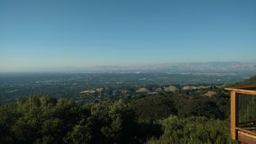 The bay area. Top of los gatos stock photos