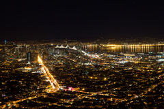 Bay Area Night Royalty Free Stock Image