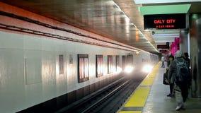 Bay Area Rapid Transit (aka BART),San Francisco, USA, stock video footage