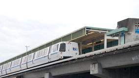 Bay Area Rapid Transit, BART, Bay Fair Station stock image