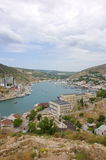 Bay of Balaclava, near Sevastopol, Crimea Stock Images