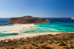 Bay of Balos Stock Photography