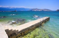 Bay in Baska. View of bay in Baska, Croatia Royalty Free Stock Images