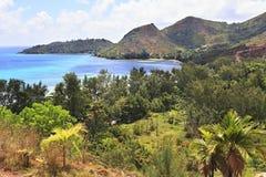 Bay beach Anse Possession Royalty Free Stock Image