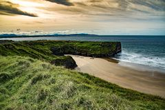 The Bay. Beach in Ballybunion, Co. Kerry, Ireland Royalty Free Stock Photos