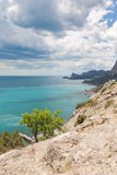 Bay. Beautiful view in Crimea, Ukraine Stock Photography
